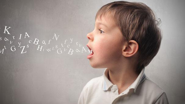 Çocuklarda harf söyleyememe sorunu